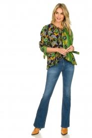 Antik Batik |  Visocse blouse Talita | multi  | Picture 3