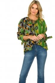 Antik Batik |  Visocse blouse Talita | multi  | Picture 4