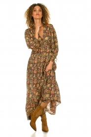 Antik Batik |  Maxi dress with print Cherie | multi  | Picture 3
