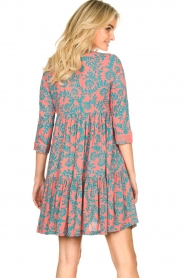 Genesis |  Print dress Agra | red  | Picture 6