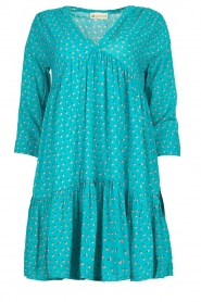 Genesis |  Print dress Agra | blue  | Picture 1