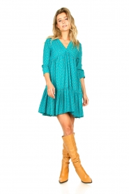 Genesis |  Print dress Agra | blue  | Picture 3