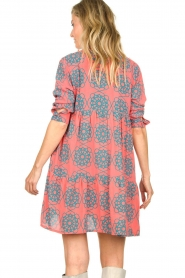 Genesis |  Buttoned print dress Anju | red  | Picture 6
