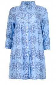 Genesis |  Print dress Anju | blue  | Picture 1