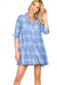 Genesis |  Print dress Anju | blue  | Picture 4