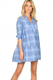 Genesis |  Print dress Anju | blue  | Picture 2
