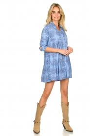Genesis |  Print dress Anju | blue  | Picture 3