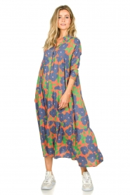 Genesis |  Floral maxi dress Anju | red  | Picture 2