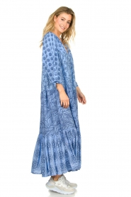 Genesis |  Maxi dress Jaipur | blue  | Picture 4