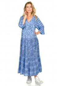 Genesis |  Maxi dress Jaipur | blue  | Picture 2