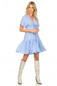 Genesis |  Print dress Tanah | blue  | Picture 3