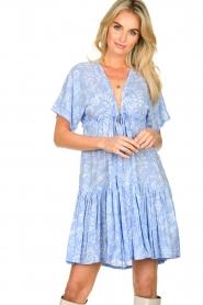 Genesis |  Print dress Tanah | blue  | Picture 2