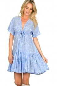 Genesis |  Print dress Tanah | blue  | Picture 4