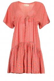 Genesis |  Print dress Tanah | red  | Picture 1