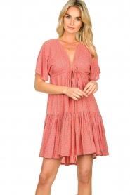 Genesis |  Print dress Tanah | red  | Picture 4