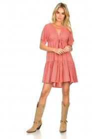 Genesis |  Print dress Tanah | red  | Picture 3