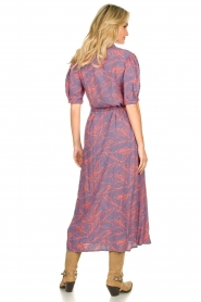 Genesis |  Buttoned maxi dress Kira | blue  | Picture 6