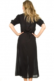Genesis |  Buttoned maxi dress Kira | black  | Picture 6
