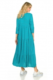 Genesis :  Printed maxi dress Zaga | blue - img5