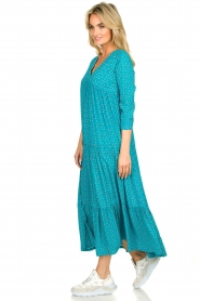 Genesis :  Printed maxi dress Zaga | blue - img4
