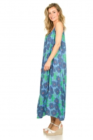 Genesis |  Sleeveless maxi dress Dali | blue  | Picture 4