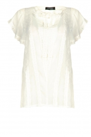 Fracomina |  Lace top Grazia | white  | Picture 1