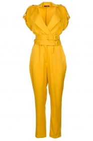 Fracomina |  Jumpsuit Lusiana | yellow  | Picture 1