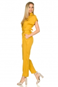 Fracomina |  Jumpsuit Lusiana | yellow  | Picture 4