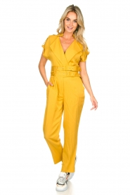 Fracomina |  Jumpsuit Lusiana | yellow  | Picture 3