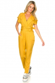 Fracomina |  Jumpsuit Lusiana | yellow  | Picture 2