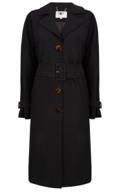 Dante 6 |  Trench coat Bexley | black  | Picture 1
