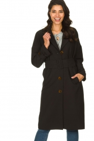 Dante 6 |  Trench coat Bexley | black  | Picture 2