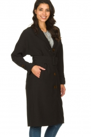 Dante 6 |  Trench coat Bexley | black  | Picture 4