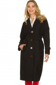 Dante 6 |  Trench coat Bexley | black  | Picture 5