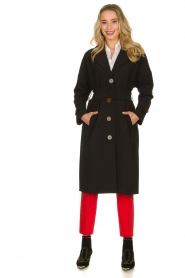 Dante 6 |  Trench coat Bexley | black  | Picture 3