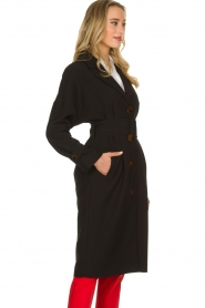Dante 6 |  Trench coat Bexley | black  | Picture 6