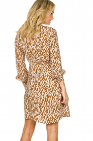 Dante 6 |  Printed dress Rousset | brown   | Picture 5