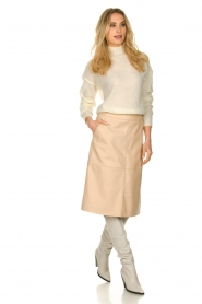 Dante 6 |  Leather skirt Pulson | naturel   | Picture 3