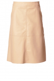 Dante 6 |  Leather skirt Pulson | naturel   | Picture 1