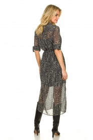 Dante 6 |  Maxi dress Lidique | black  | Picture 4