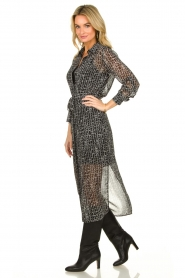 Dante 6 |  Maxi dress Lidique | black  | Picture 3