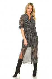 Dante 6 |  Maxi dress Lidique | black  | Picture 2