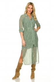 Dante 6 |  Maxi dress Lidique | green  | Picture 2