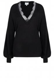 Dante 6 |  V-neck sweater Lizeth | black  | Picture 1