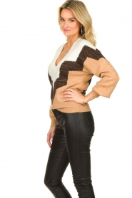 Dante 6 |  Colourblock sweater Savoir | brown  | Picture 5