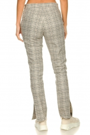 Dante 6 |  Checkered pants Lennon | grey   | Picture 5