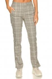 Dante 6 |  Checkered pants Lennon | grey   | Picture 2
