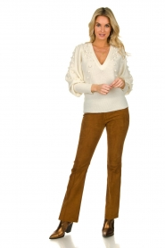 Dante 6 |  Suede legging Dolman |  brown  | Picture 6