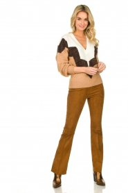 Dante 6 |  Suede legging Dolman |  brown  | Picture 3