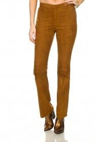 Dante 6 |  Suede legging Dolman |  brown  | Picture 2